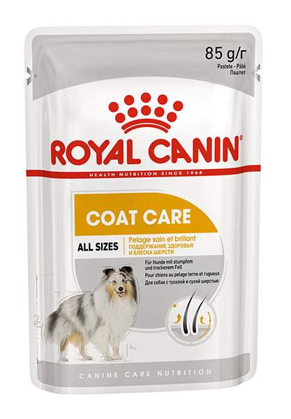 Влажный корм для собак ROYAL CANIN Coat Care, мясо
