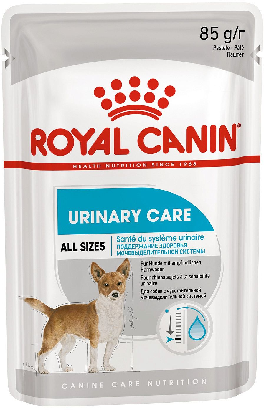 Влажный корм для собак ROYAL CANIN Urinary Care, паштет от зоомагазина Дино Зоо
