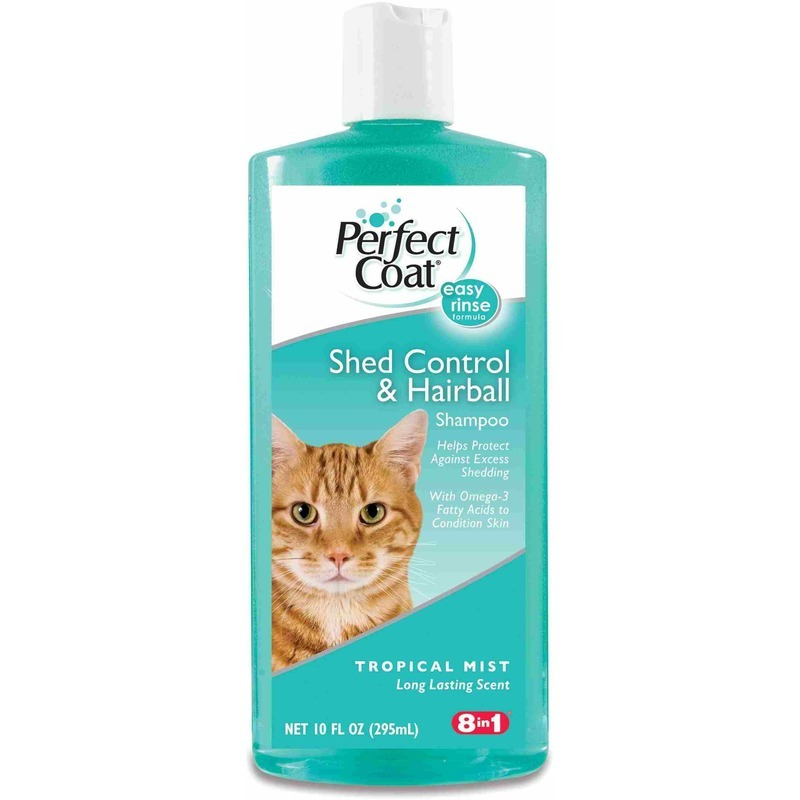 Perfect Coat Shed Control & Hairball Shampoo